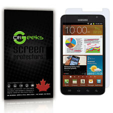 CitiGeeks® Samsung Galaxy Note I717 Crystal Clear HD Cover Guard 4G LTE [3-Pack]