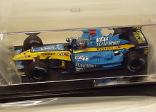 1/18 scale F.Alonso Renault 2005 World Champion Edition in case Brazil GP