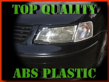 VOLKSWAGEN PASSAT B5 3B HEADLIGHT BROWS EYELIDS EYEBROWS ABS PLASTIC TUNING