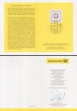 """Klappkarte 7.8.08 Joachim Ringelnatz, Gedicht """"Der Briefmark"""" (MiNr.2685)"""