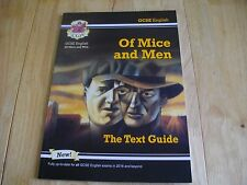 CGP GCSE ENGLISH OF MICE AND MEN JOHN STEINBECK THE TEXT GUIDE 2016 COLOUR KS4