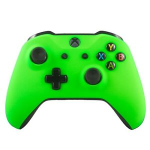 New Microsoft Xbox One Wireless Bluetooth Controller Custom Soft Touch Green
