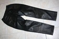 Damenhosen im Jogginghosen-Stil aus Leder mit mittlerem Wasserbedarf