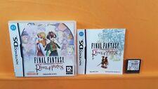DS Final Fantasy Crystal Chronicles Anillo de destino DSi 3 DS PAL Reino Unido Región Libre