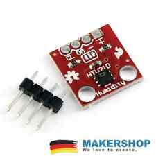 HTU21D SHT21 I2C Temperatur Feuchtigkeits Luftfeuchtigkeit Sensor Arduino
