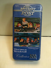 Norman Rockwell Saturday Evening Post Coming & Going 500 Pc Puzzle New Sealed