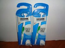 Lot of 2 Listerine Ultraclean Access Flosser Handles Starter Pack Factory Sealed