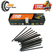 "Crow Cams Chrome Moly Pushrods 7.400"" LS1 LS2 LS3 LS7 L98 Set x16 PR5740-110"