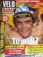 VELO : GUIDE DU TOUR DE FRANCE : 1997 : VELORAMA SPECIAL TOUR DE FRANCE