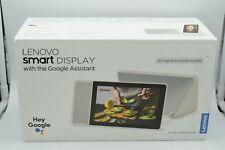 "Excellent Lenovo 8"" Smart Display Google Assistant, White Grey SD-8501F L8"