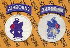 US Army School of the America's Special Operations Airborne SOA patch m/e