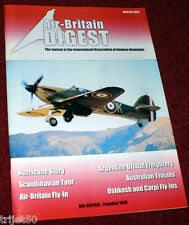 Air Britain Digest 2002 Winter Hurricane,Bristol Freighter,T-28