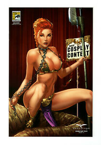 Grimm Fairy Tales (Zenescope) #111 SDCC Slave Leia Cosplay 1/100 Variant (NM-)