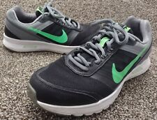 New listing Nike Air Relentless 5 Mens Black Green Running Athletic Casual Shoes Size 7.5