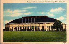 Baton Rouge Louisiana State University Agricultural Center~Linen Postcard