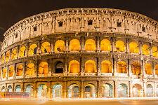 Superbo stile antico ROMA COLOSSEO tela di Qualità #429 ROMA A1 foto su tela