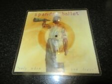 """SPANDAU BALLET """"ONLY WHEN YOU LEAVE"""" SQUARE SHAPED PIC DISC"""