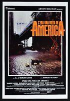 Plakat C'Era Ein Volta IN Amerika Sergio Leone Robert De Niro James Woods PP4