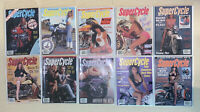 Vintage SuperCycle Magazine Lot of 10 1990 Rare!