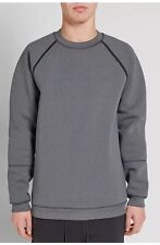 PUMA X STAMPD RAGLAN CREW NECK SWEAT SHIRT GRAY 570906 51 SIZE M