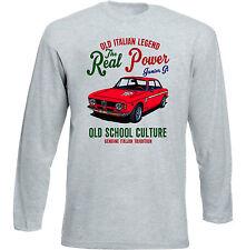 Vintage Italian voiture ALFA ROMEO GTA Junior-Neuf T-shirt en coton