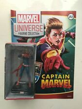 MARVEL UNIVERSE FIGURINE COLLECTION ISSUE 30 CAPTAIN MARVEL PANINI FIGURE + MAG
