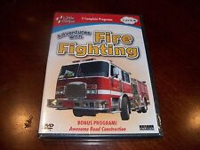 Little Steps: Adventures with Fire Fighting 2 Complete Programs (DVD, 2009) NEW