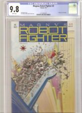 MAGNUS ROBOT FIGHTER #2 CGC 9.8 WHITE PAGES