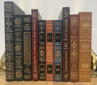 EASTON PRESS LOT OF 10 - Leather - Includes 100 Greatest - Faulkner Kafka MORE