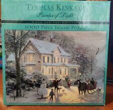 "THOMAS KINKADE ""HOME FOR THE HOLIDAYS"" JIGSAW PUZLE"