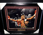 Mike Tyson AUTHENTIC SIGNED Autographed 16x20 CHAMPION Photo Framed JSA COA