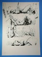 Eternal Warrior #1 page 13 Valiant Comics Original Art 2013 Trevor Hairsine
