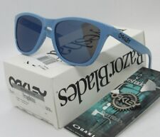 OAKLEY polished blue/ice iridium FROGSKINS OO9013-36 sunglasses! NEW IN BOX!