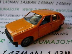 SOL31N voiture 1/43 SOLIDO : RENAULT 14 R14 orange