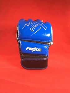 Mark Hunt Signed 2x Pride FC UFC Fight Glove MMA  Autograph
