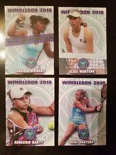 ELISE MERTENS 2018 Wimbledon ROOKIE TENNIS card 1/100
