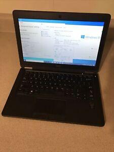 Dell Latitude E7250 intel core I7-5600U 6GB 128GB SSD Windows 10 Laptop