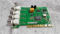WITHOUT DRIVERS!!! Techwell PC DVR-4-NET 4-Channel PCI DVR Card ONLY Grade A