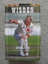 Wisden Cricketers' Almanack Australia 2004 7th Ed Shane Warne Cricket HBDJ Book