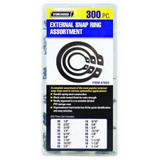 300 Pieces External Snap Ring Assortment Kit Set Storehouse® - item# 67655