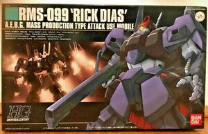 HGUC #010 RMS-099 Rick Dias 1/144 plastic Mobile Suit Z Gundam (Last Three!)