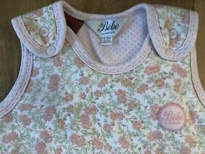 Bebe by Minihaha Sleeping Bag Baby Girl's Floral Size 0-6 Months