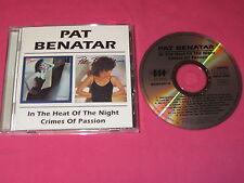 Pat Benatar In The Heat Of The Night Crimes Passion CD Album Rock (BGOCD418)