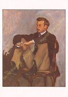 CP ART TABLEAU FRéDéRIC BAZILLE Portrait de Renoir