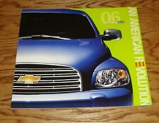 Original 2006 Chevrolet HHR Deluxe Sales Brochure 06 Chevy