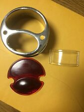 Ford Model A Tail Lamp Housing With Square License Lens Hole