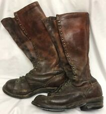 Vintage Pre-WW2 Cavalry Horse Trooper Boots High Tall Riding *See Description*
