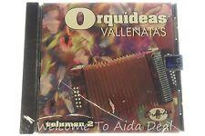 Orquideas Vallenatas Volume 2 CD