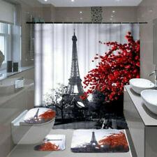 Articles et textiles à motif Floral pour la salle de bain