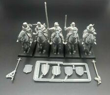 Games Workshop Warhammer Bretonnia Mounted Yeomen with Command WFB AoS OOP 1998